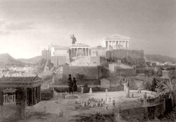 Athen und die Agora